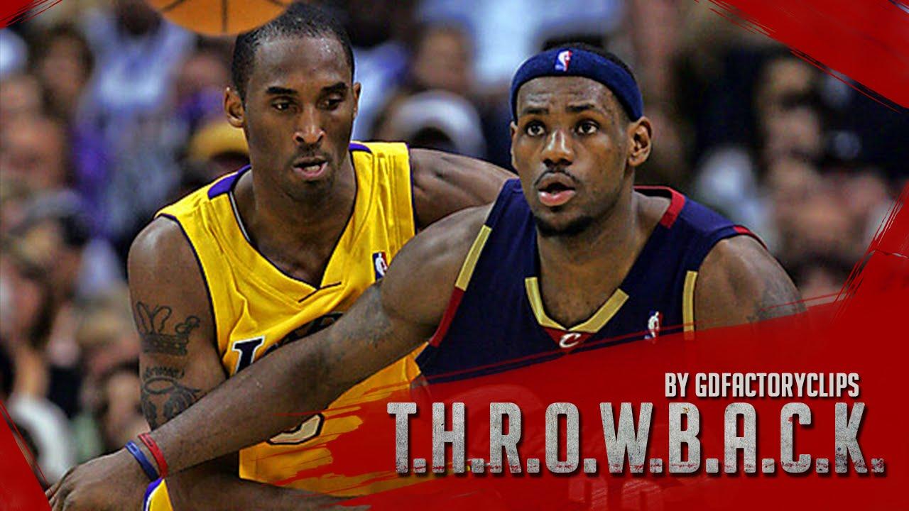 f1cc668d0c3 Kobe Bryant vs Lebron James EPIC Duel Highlights Lakers vs Cavaliers ...