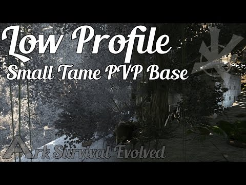 Low Profile Small Tame PVP Base | The Center Map | Build Guide | Ark: Survival Evolved