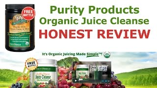 Organic Juice Cleanse Review From Purity Products