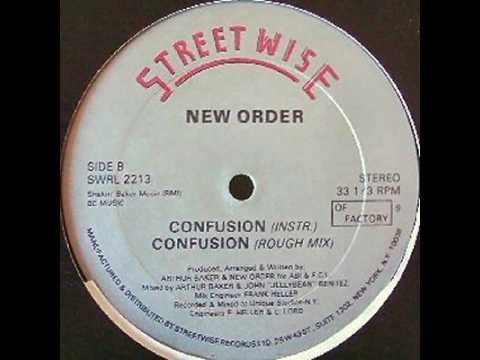 New Order - Confusion Instrumental