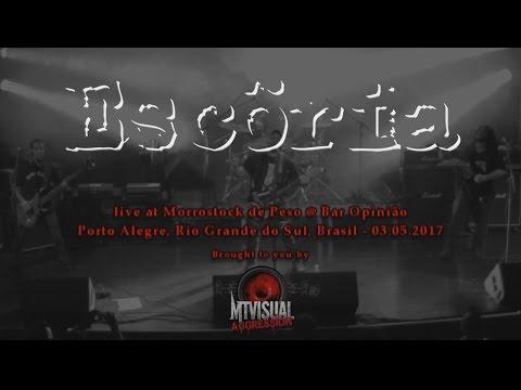 ESCÖRIA - Live at Morrostock de Peso - Porto Alegre [2017] [FULL SET]