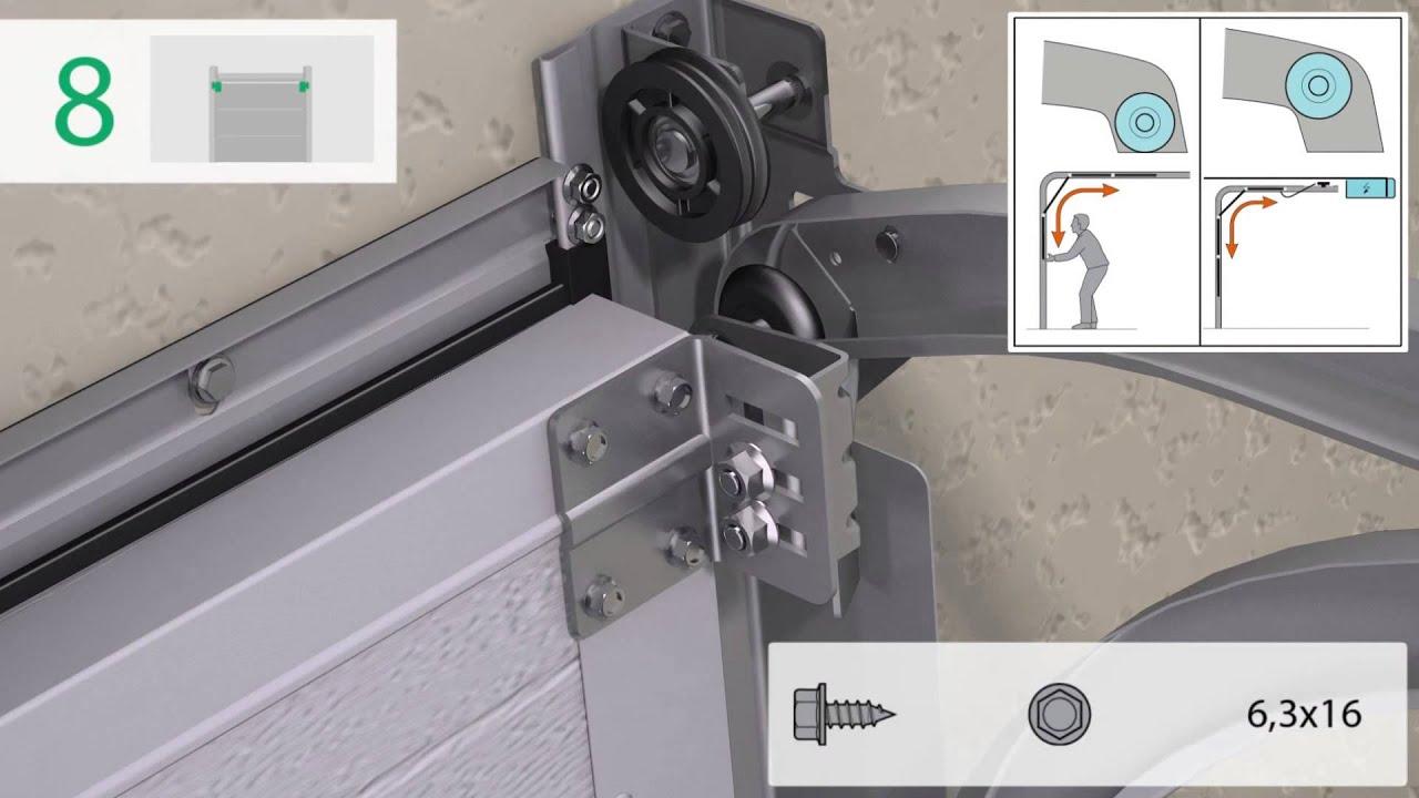 Anweisung Zur Montage Der Garagentore Serie Standard - Youtube