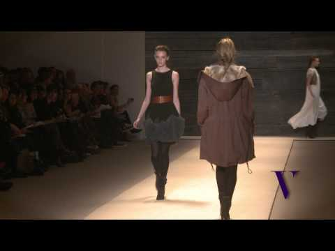 Adam Lippes of ADAM Fall/WInter  2010 New York Fashion Week Interview and Runway  Show