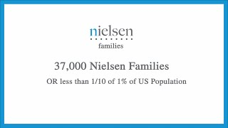 Here's an idea - How To Be A Nielsen Family