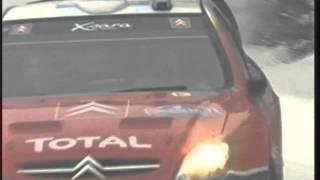 53rd Uddeholm Swedish Rally 2004 - Sébastien Loeb and Daniel Elena