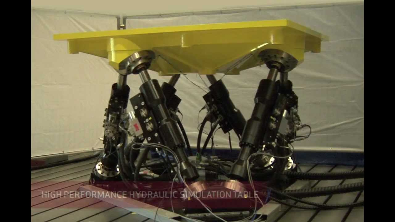 Moog Hydraulic Simulation Table