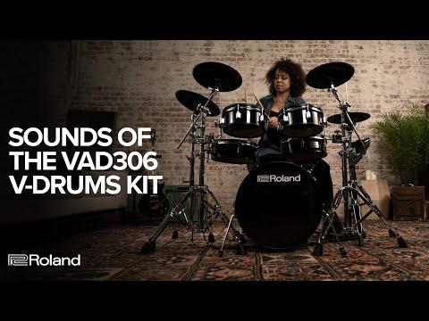 Sounds of Roland V-Drums Acoustic Design VAD306 Electronic Drum Kit