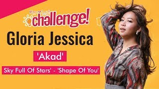 Gloria Jessica Mash-Up Lagu Ed Sheeran, Coldplay & Payung Teduh