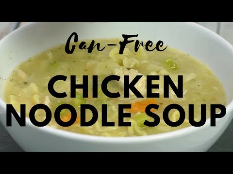 Slow Cooker Can-Free Chicken Noodle Soup