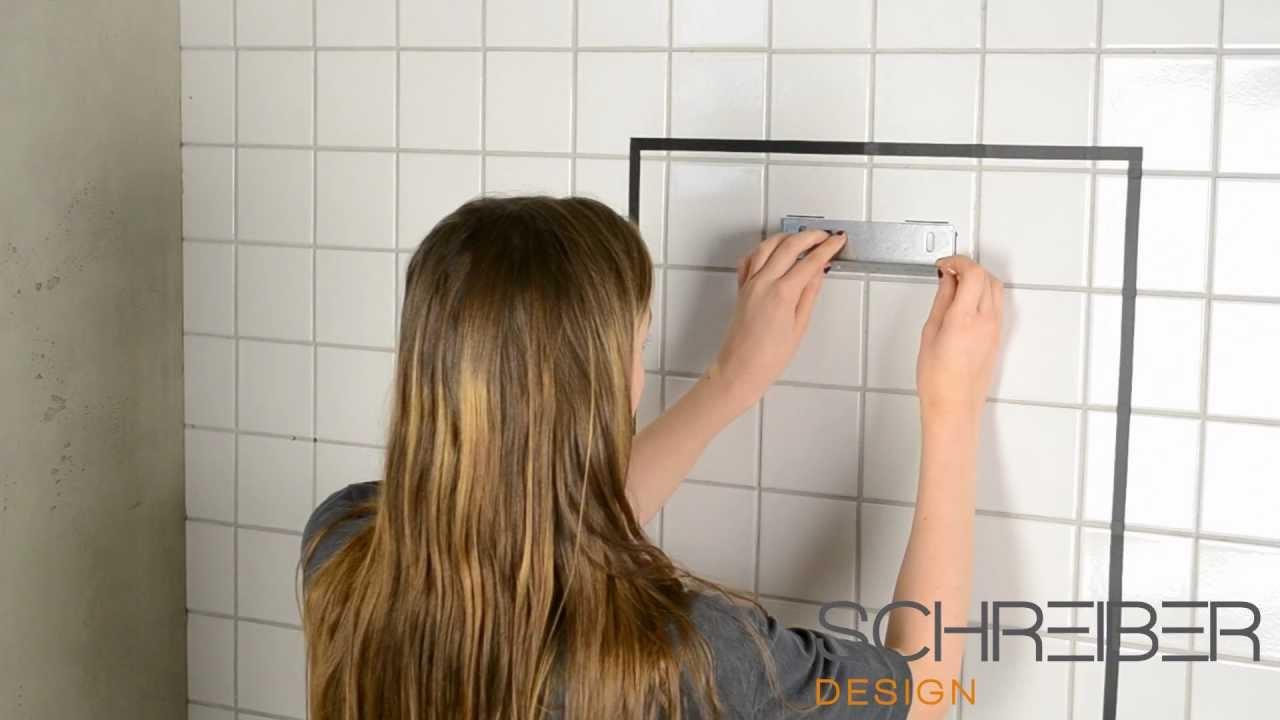 Schreiber Lichtdesign spiegelmontage ohne bohren schreiber spiegel 20 30 mm