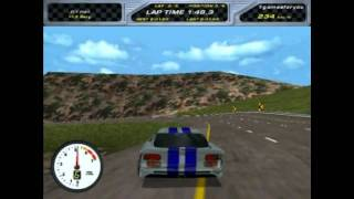 Viper Racing ( from 1998 ) gameplay