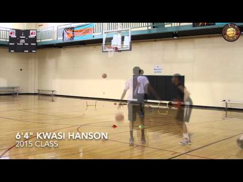 """Workout Session With  6'4"""" 2015 PG Kwasi Hanson Workout"""
