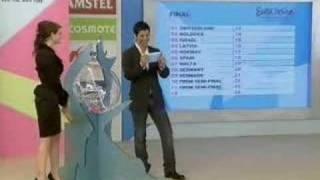 Eurovision 2006 draw (II)