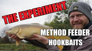 NEW Method Feeder Fishing for Carp Method Feeder Hookbaits The Colour Test Rob Wootton