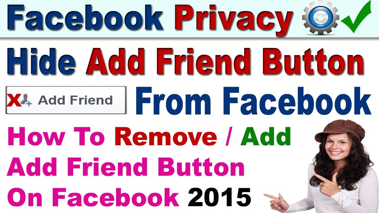 Facebook no add friend button