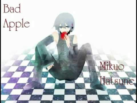 Bad Apple!! - Mikuo Hatsune + MP3 ♫♪