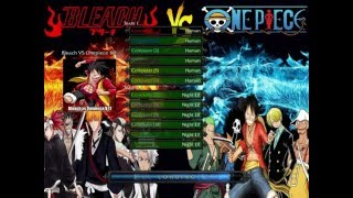 Bleach Vs One Piece 11 0 Ai Map Youtube