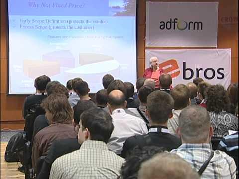 AgileTuras2011. Keynote: Mary Poppendieck. Agile Under Contract
