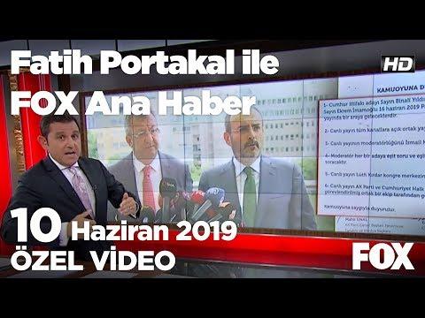 İyi Parti: Müttefikliğe uygun değil! 10 Haziran 2019 Fatih Portakal ile FOX Ana
