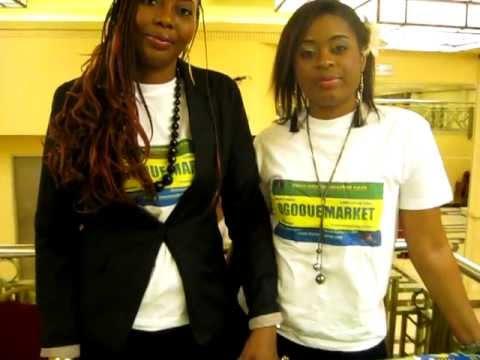 Miss Gabon France 2011 le stand Ogooue Market