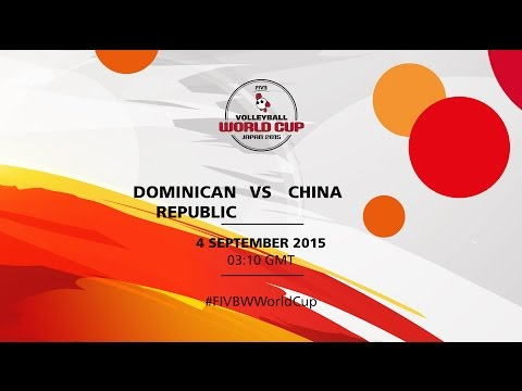 Dominican Republic v China - FIVB Volleyball Women's World Cup Japan 2015