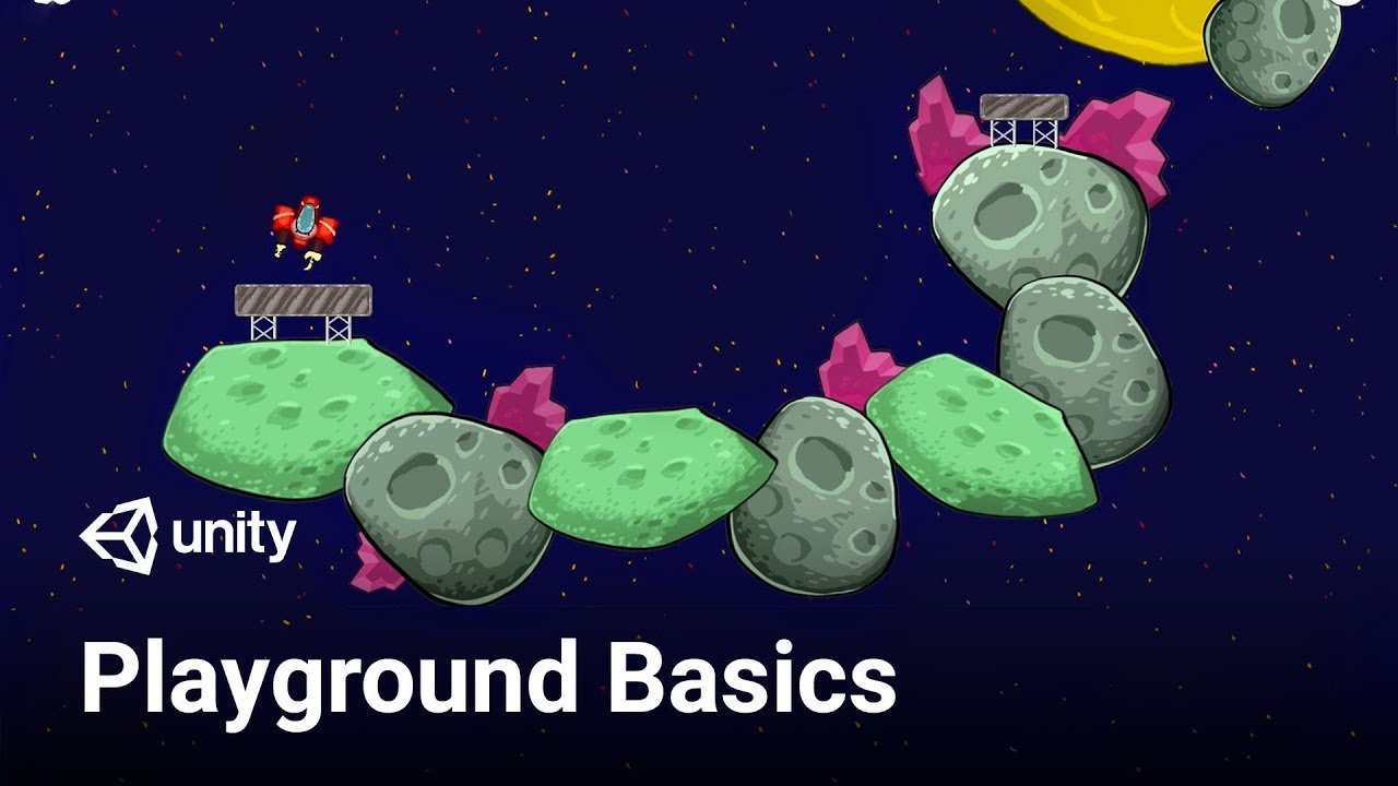 How to Start Making Games - Unity Playground (Beginner Friendly)