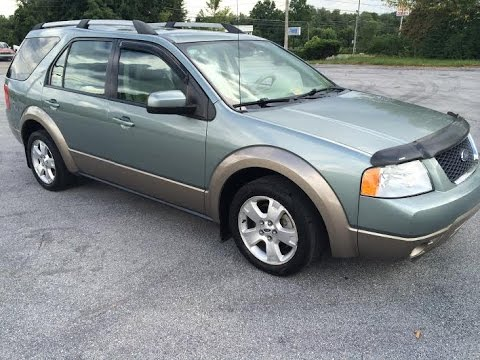 2005 Ford Freestyle Sel Awd Wagon Tour Walk Around Youtube