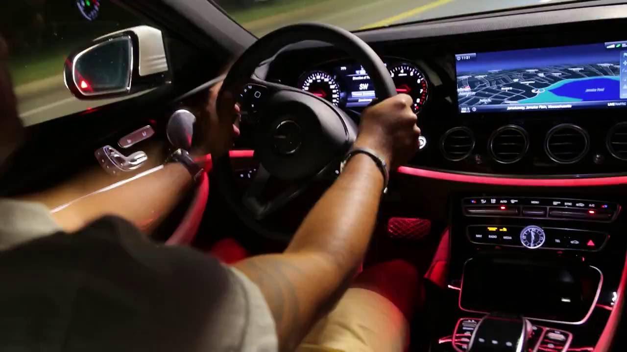 مرسيدس E350 2017 >> 2017 Mercedes-Benz E300 Interior Lighting - YouTube