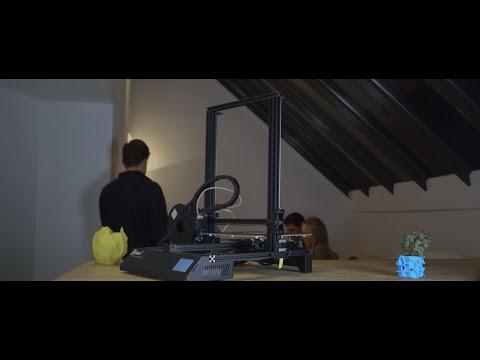 "0 - BIQU Thunder 3d printer startet mit ""Click & Print"""