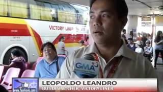 Balitang Amianan - Mga biyahero, nagsimula nang dumagsa sa mga terminal ng bus sa Dagupan City