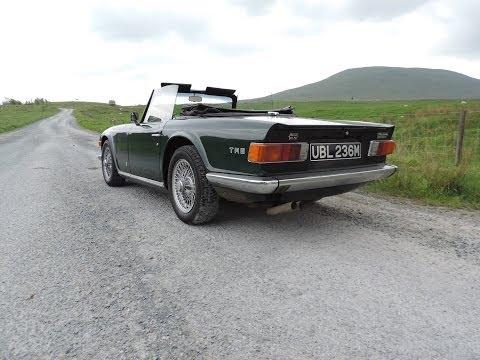 1975 Triumph TR6 PI Review