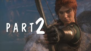 Rise of the Tomb Raider - Walkthrough PART 2 Gameplay No Commentary [1080p]