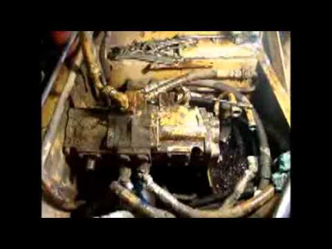 Case skid steer leak repair - YouTube