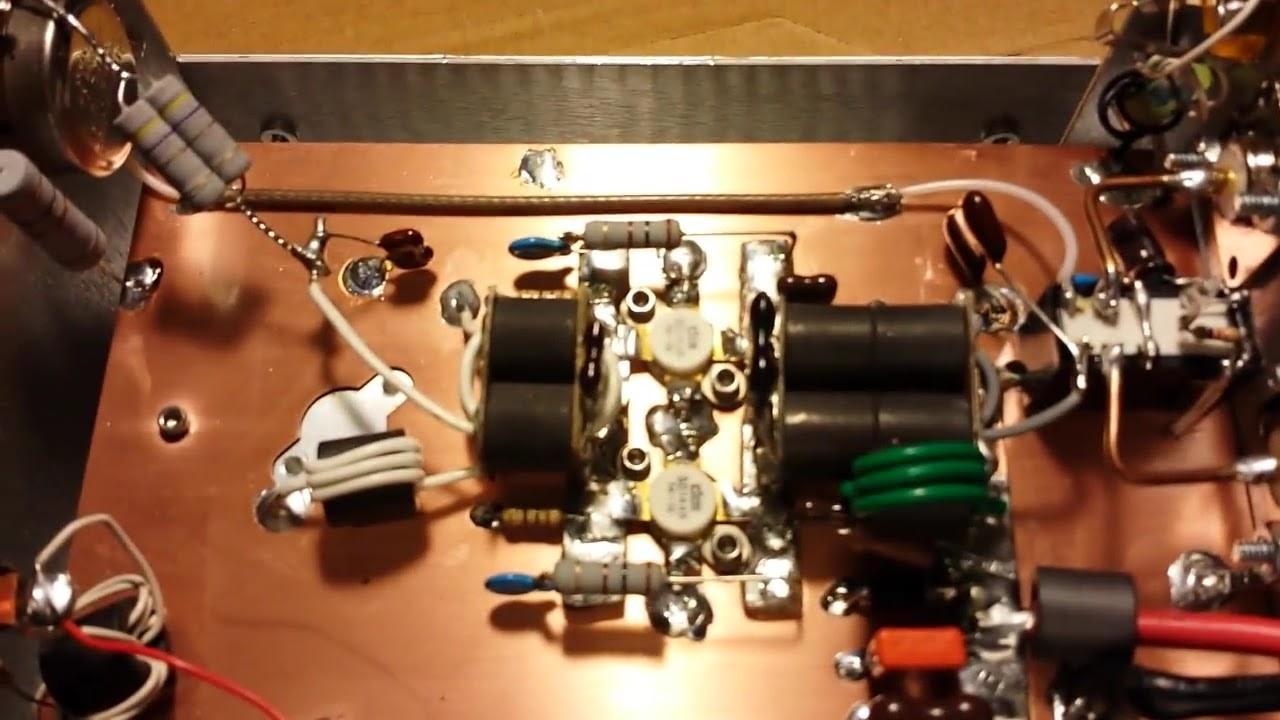 Gatekeeper 2 x DEI SD1446 Amplifier Output Test