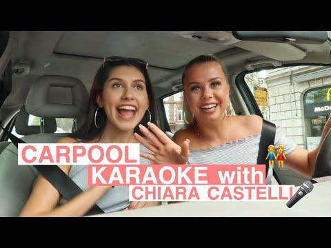 CARPOOL KARAOKE W. CHIARA CASTELLI I Ana Lisa