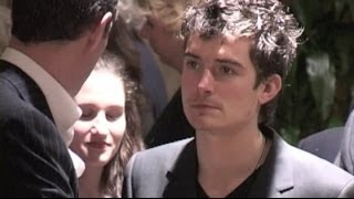 ORLANDO BLOOM attends MIKHAIL GORBACHEV