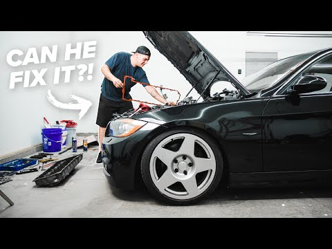 I LET A SUBSCRIBER FIX MY BMW | here's what happened..