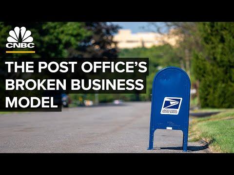 How The U.S. Postal Service Fell Into A Financial Black Hole