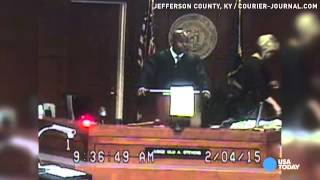Judge rebukes victims in court, stirs racist backlash