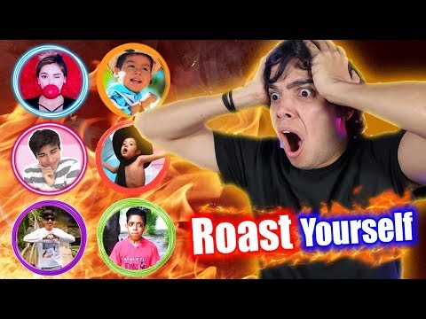 LOS ROAST YOURSELF CHALLENGE MÁS GRACIOSOS DE YOUTUBE!!