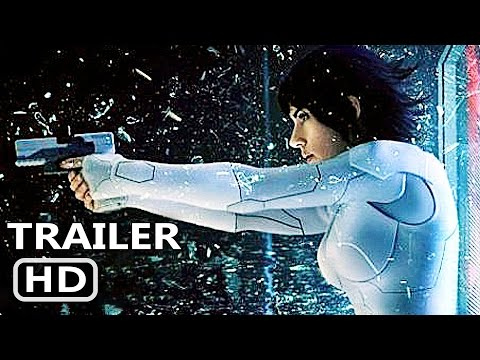 GHOST IN THE SHELL - All Trailers (2017) Scarlett Johansson Action Movie HD streaming vf