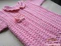 Crochet Patterns| free |baby sweater design video| 2682