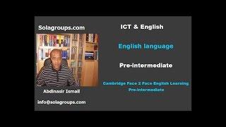 Cambridge English Face2Face Pre-Intermediate