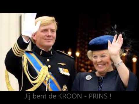 Inhuldigingslied voor Koning Willem-Alexander door Johan de Witt (muzikale versie)