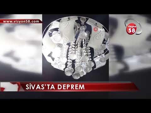 SİVAS'TA DEPREM