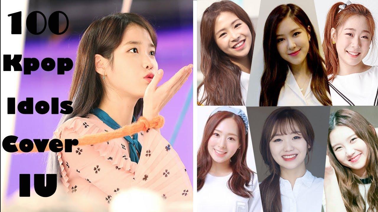 100 Kpop Idols Cover IU You&I (Part 12) 아이유 너랑나