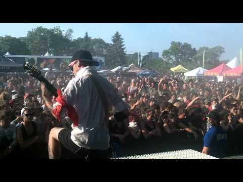 RECREANT - CHELSEA GRIN @ WARPED TOUR MONTREAL