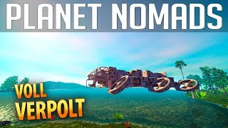 PLANET NOMADS #013 | Voll verpolt - Xaenit muss mit  | Gameplay German Deutsch thumbnail