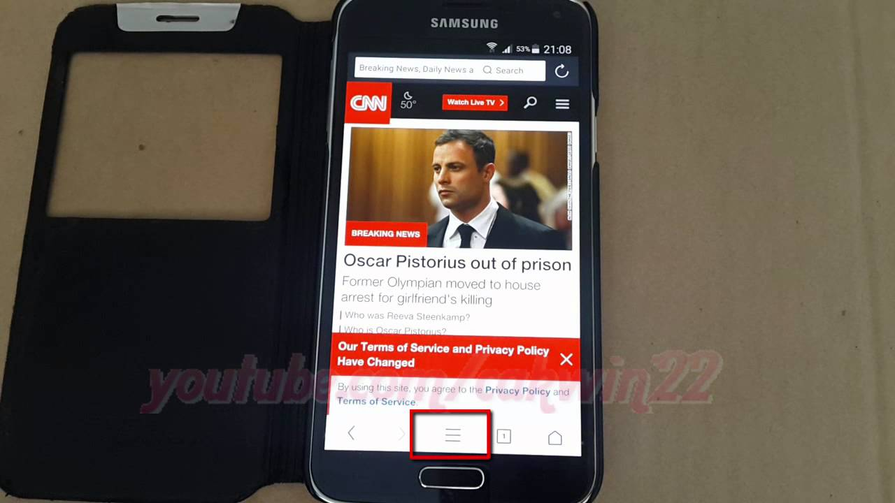 How to Enable or Disable force page to zoom in UC Browser For Android