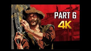 RED DEAD REDEMPTION Gameplay Walkthrough Part 6 - Treasure (4K Xbox One X Enhanced)